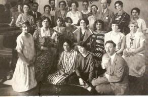 Alinda Burnham in Nadia Boulanger's 1926